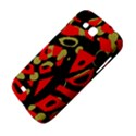 Red artistic design Samsung Galaxy Grand GT-I9128 Hardshell Case  View4