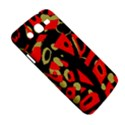 Red artistic design Samsung Galaxy Mega 5.8 I9152 Hardshell Case  View5