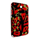 Red artistic design Samsung Galaxy Note 8.0 N5100 Hardshell Case  View2