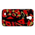 Red artistic design Samsung Galaxy Mega 6.3  I9200 Hardshell Case View1