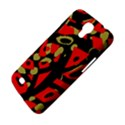 Red artistic design Samsung Galaxy Mega 6.3  I9200 Hardshell Case View4