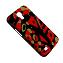 Red artistic design Samsung Galaxy Mega 6.3  I9200 Hardshell Case View5