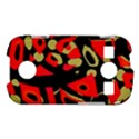 Red artistic design Samsung Galaxy S7710 Xcover 2 Hardshell Case View1