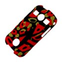 Red artistic design Samsung Galaxy S7710 Xcover 2 Hardshell Case View4