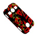 Red artistic design Samsung Galaxy S7710 Xcover 2 Hardshell Case View5