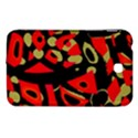 Red artistic design Samsung Galaxy Tab 3 (7 ) P3200 Hardshell Case  View1