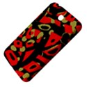 Red artistic design Samsung Galaxy Tab 3 (7 ) P3200 Hardshell Case  View4