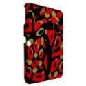 Red artistic design Samsung Galaxy Tab 3 (10.1 ) P5200 Hardshell Case  View2
