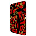 Red artistic design Samsung Galaxy Tab 3 (10.1 ) P5200 Hardshell Case  View3
