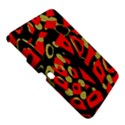Red artistic design Samsung Galaxy Tab 3 (10.1 ) P5200 Hardshell Case  View5