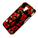 Red artistic design LG Optimus L7 II View4