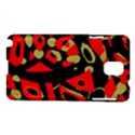 Red artistic design Samsung Galaxy Note 3 N9005 Hardshell Case View1
