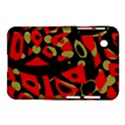 Red artistic design Samsung Galaxy Tab 2 (7 ) P3100 Hardshell Case  View1