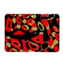 Red artistic design Samsung Galaxy Tab 2 (10.1 ) P5100 Hardshell Case  View1
