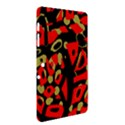 Red artistic design Samsung Galaxy Tab 2 (10.1 ) P5100 Hardshell Case  View2