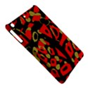 Red artistic design iPad Air Hardshell Cases View5