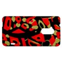 Red artistic design HTC One Max (T6) Hardshell Case View1