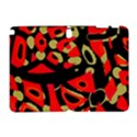 Red artistic design Samsung Galaxy Note 10.1 (P600) Hardshell Case View1