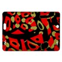 Red artistic design Amazon Kindle Fire HD (2013) Hardshell Case View1