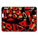 Red artistic design Kindle Fire HDX Hardshell Case View1
