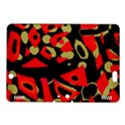 Red artistic design Kindle Fire HDX 8.9  Hardshell Case View1