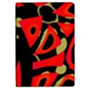 Red artistic design iPad Mini 2 Flip Cases View1
