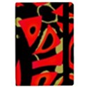 Red artistic design iPad Mini 2 Flip Cases View2