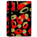 Red artistic design iPad Mini 2 Flip Cases View4