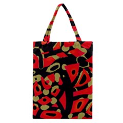 Red artistic design Classic Tote Bag
