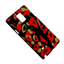 Red artistic design Samsung Galaxy Note 4 Hardshell Case View5