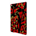 Red artistic design iPad Air 2 Hardshell Cases View3