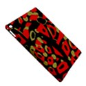 Red artistic design iPad Air 2 Hardshell Cases View5