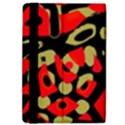 Red artistic design iPad Air 2 Flip View4