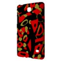 Red artistic design Samsung Galaxy Tab 4 (7 ) Hardshell Case  View2