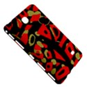 Red artistic design Samsung Galaxy Tab 4 (7 ) Hardshell Case  View5