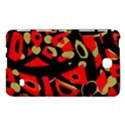Red artistic design Samsung Galaxy Tab 4 (8 ) Hardshell Case  View1