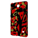 Red artistic design Samsung Galaxy Tab 4 (8 ) Hardshell Case  View2