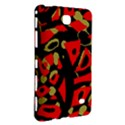 Red artistic design Samsung Galaxy Tab 4 (8 ) Hardshell Case  View3