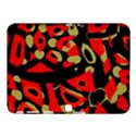 Red artistic design Samsung Galaxy Tab 4 (10.1 ) Hardshell Case  View1