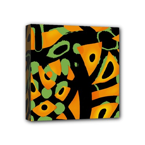 Abstract animal print Mini Canvas 4  x 4