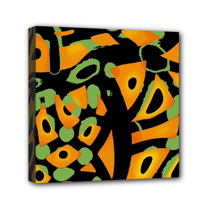 Abstract animal print Mini Canvas 6  x 6