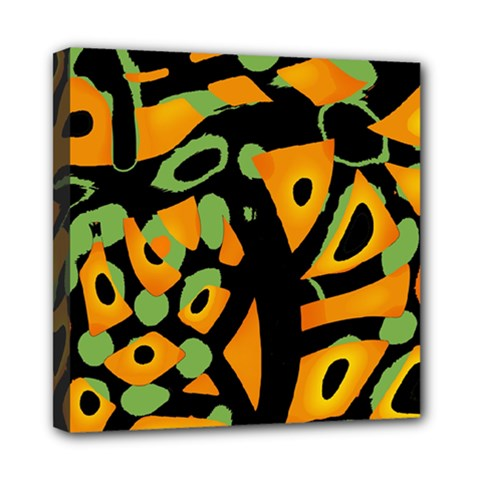 Abstract animal print Mini Canvas 8  x 8