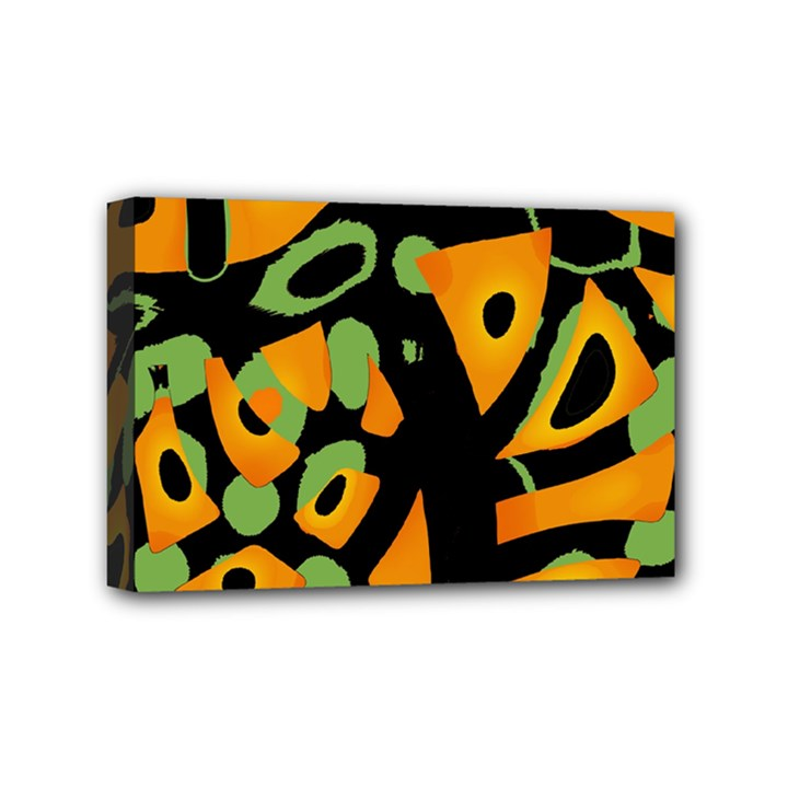 Abstract animal print Mini Canvas 6  x 4