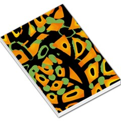 Abstract animal print Large Memo Pads