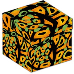 Abstract Animal Print Storage Stool 12