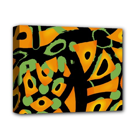 Abstract animal print Deluxe Canvas 14  x 11