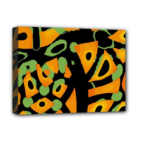 Abstract animal print Deluxe Canvas 16  x 12