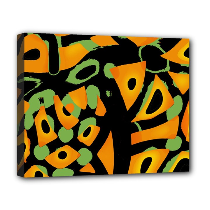 Abstract animal print Deluxe Canvas 20  x 16