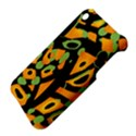 Abstract animal print Apple iPhone 3G/3GS Hardshell Case View4