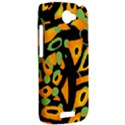 Abstract animal print HTC One S Hardshell Case  View2